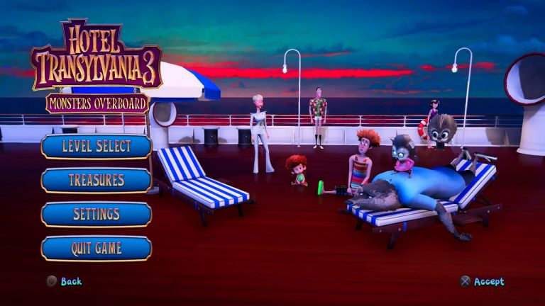 WIN A HOTEL TRANSYLVANIA 3: MONSTERS OVERBOARD X-BOX Video Game Giveaway
