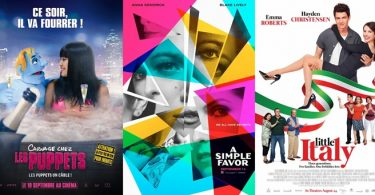 TRAILERS: A Simple Favor, Killer Kate!, The Happytime Murders, Little Italy