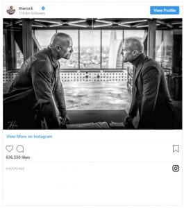 Hobbs & Shaw Gets REAL Johson + Statham Face Off