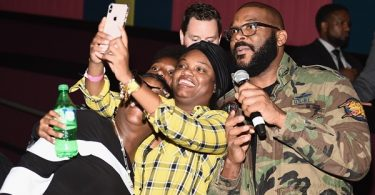 Tyler Perry Surprises Everyone at Nobody's Fool Atlanta Screening