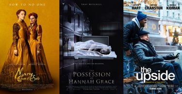 TRAILERS: The Possession of Hannah Grace; Mary Queen of Scots; The Upside