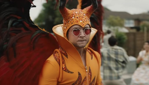 Why Taron Egerton Didn't Want Elton John On Rocketman Set