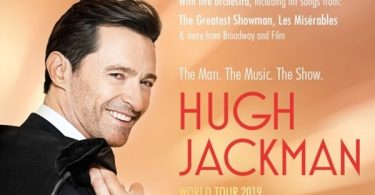 "Hugh Jackman Going on Tour with ""The Man. The Music. The Show."""