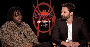 Jake Johnson + Shameik Moore Talk Miles Morales Spider-Man Powers