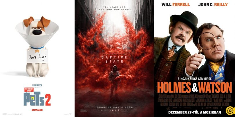 TRAILERS: The Secret Life Of Pets 2, Captive State, Holmes & Watson