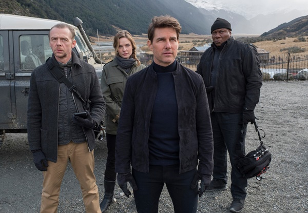 Paramount Pictures Mission Impossible 7 + 8 Filming Back-to-Back