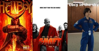 TRAILERS: Hellboy (RedBand); Lucy In The Sky; Shaft