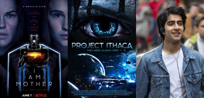 TRAILERS: Project Itaca, Netflix I AM MOTHER, Warner Bros. Blinded by the Light