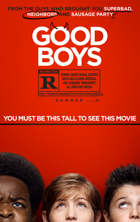 GOOD BOYS Screening GIVEAWAY: Long Beach CA + Riverside CA