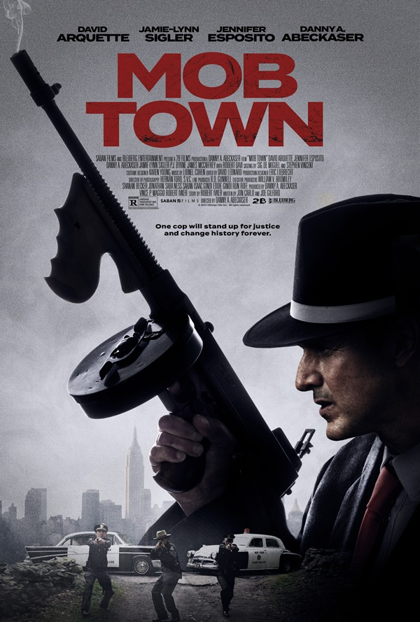 First Look Saban Films MOB TOWN Trailer Starring David Arquette
