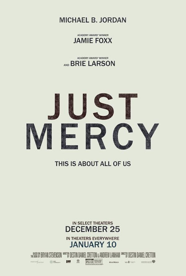 Watch Jamie Foxx Riveting Death Row Drama JUST MERCY Trailer