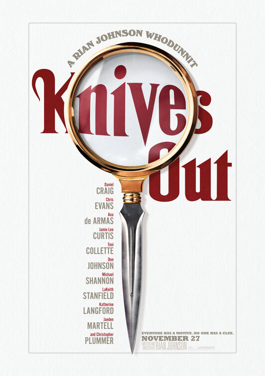 KNIVES OUT Screening GIVEAWAY: Multiple Cities