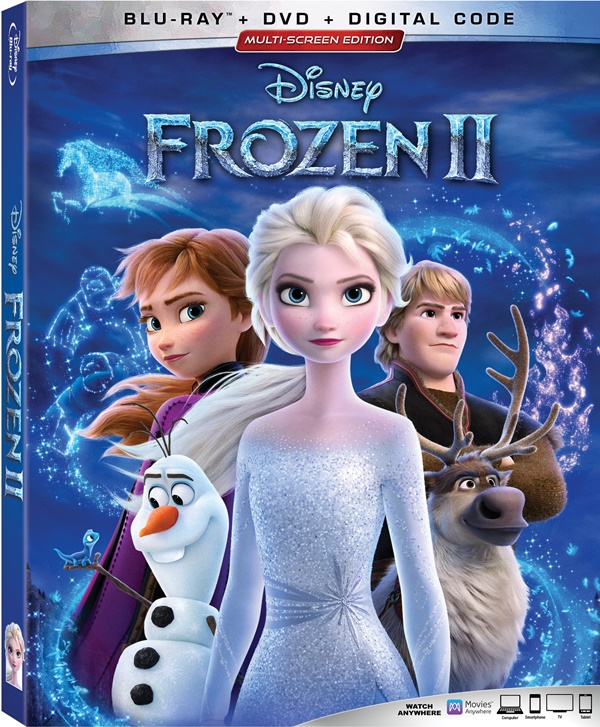 FROZEN 2 4K Ultra HD/Blu-Ray/Digital Combo Giveaway