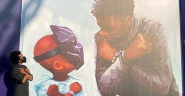 Downtown Disney Reveals Incredible Chadwick Boseman Mural