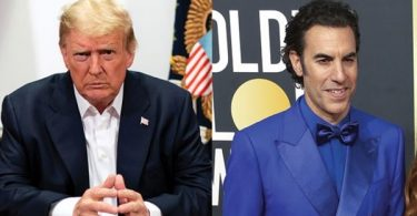 'Borat' Star Sacha Baron Cohen Thanks Trump + Offers Him a Job