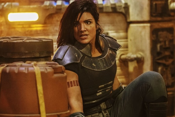 """Mandalorian"" star Gina Carano Ex'd Herself Out of 'Star Wars' Universe"